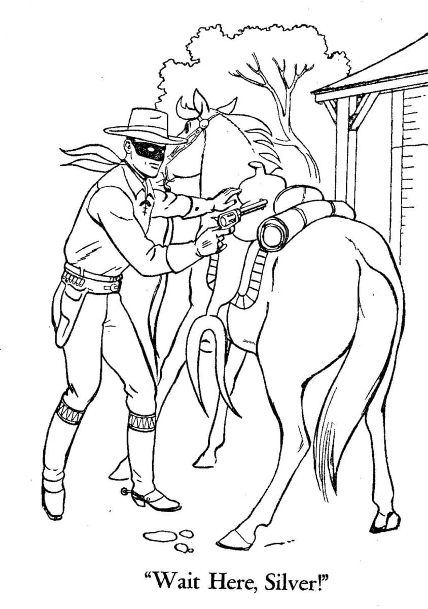 Best Of The Lone Ranger Disney Coloring Pages Collection