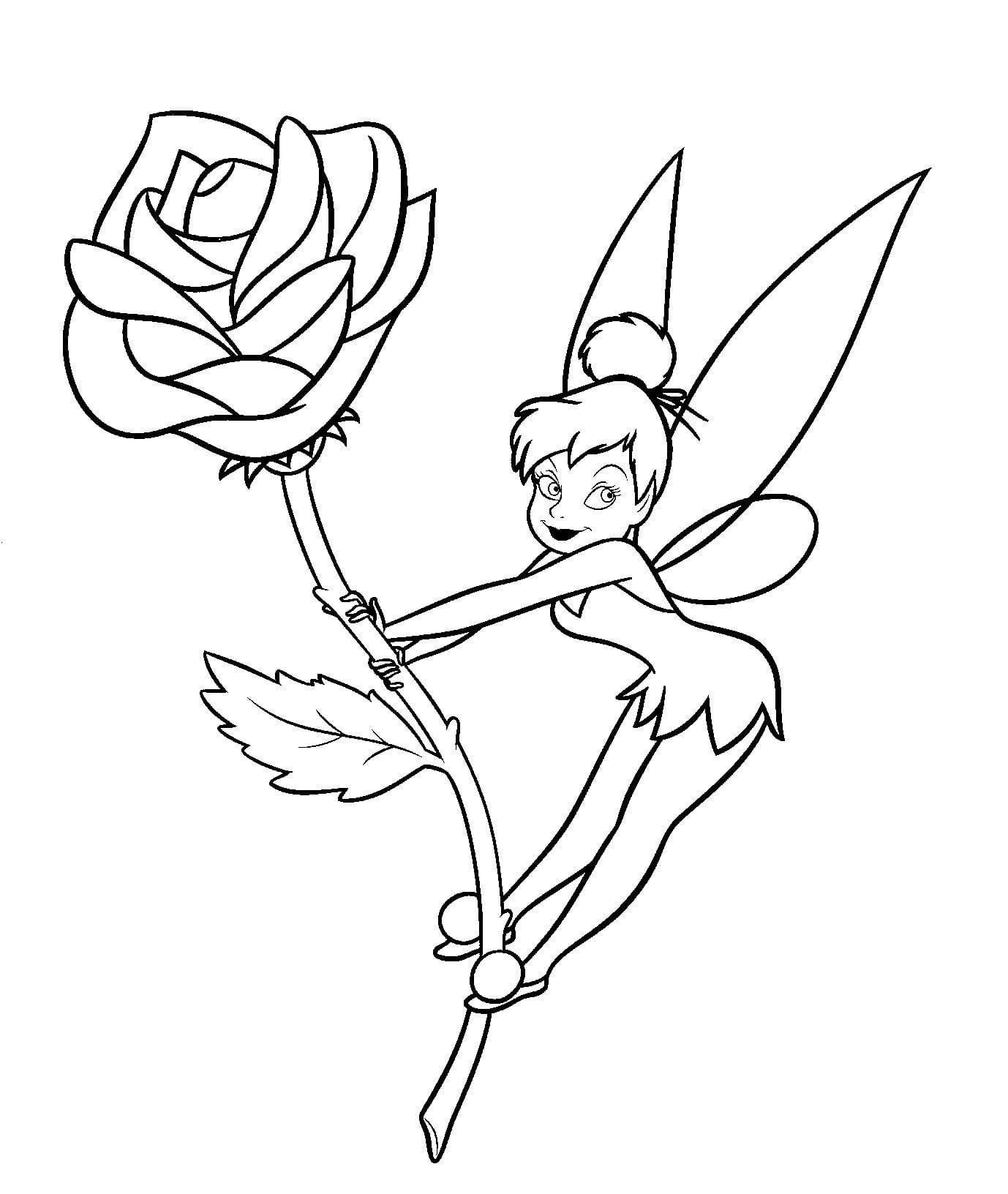 Tinkerbell Coloring Pages Inspirationa Within