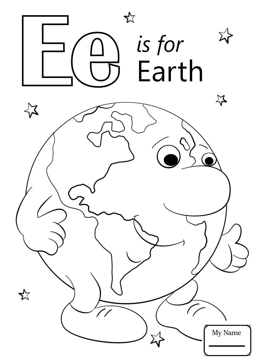 Unlock Letter E Coloring Pages Preschool 2 18319 And Is For