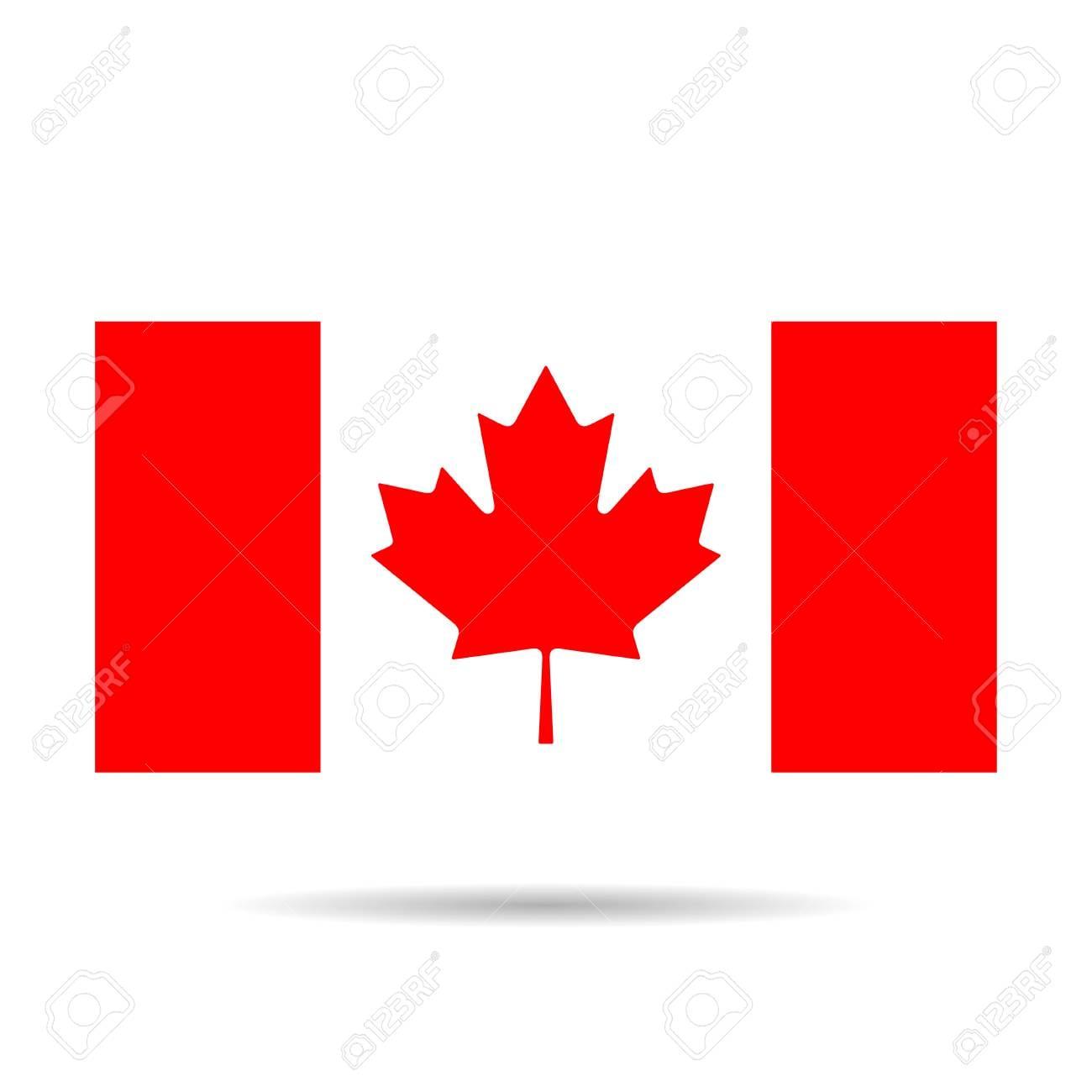 Simplistic Canada Flag Template Best Photos Of Canadian Maple Leaf