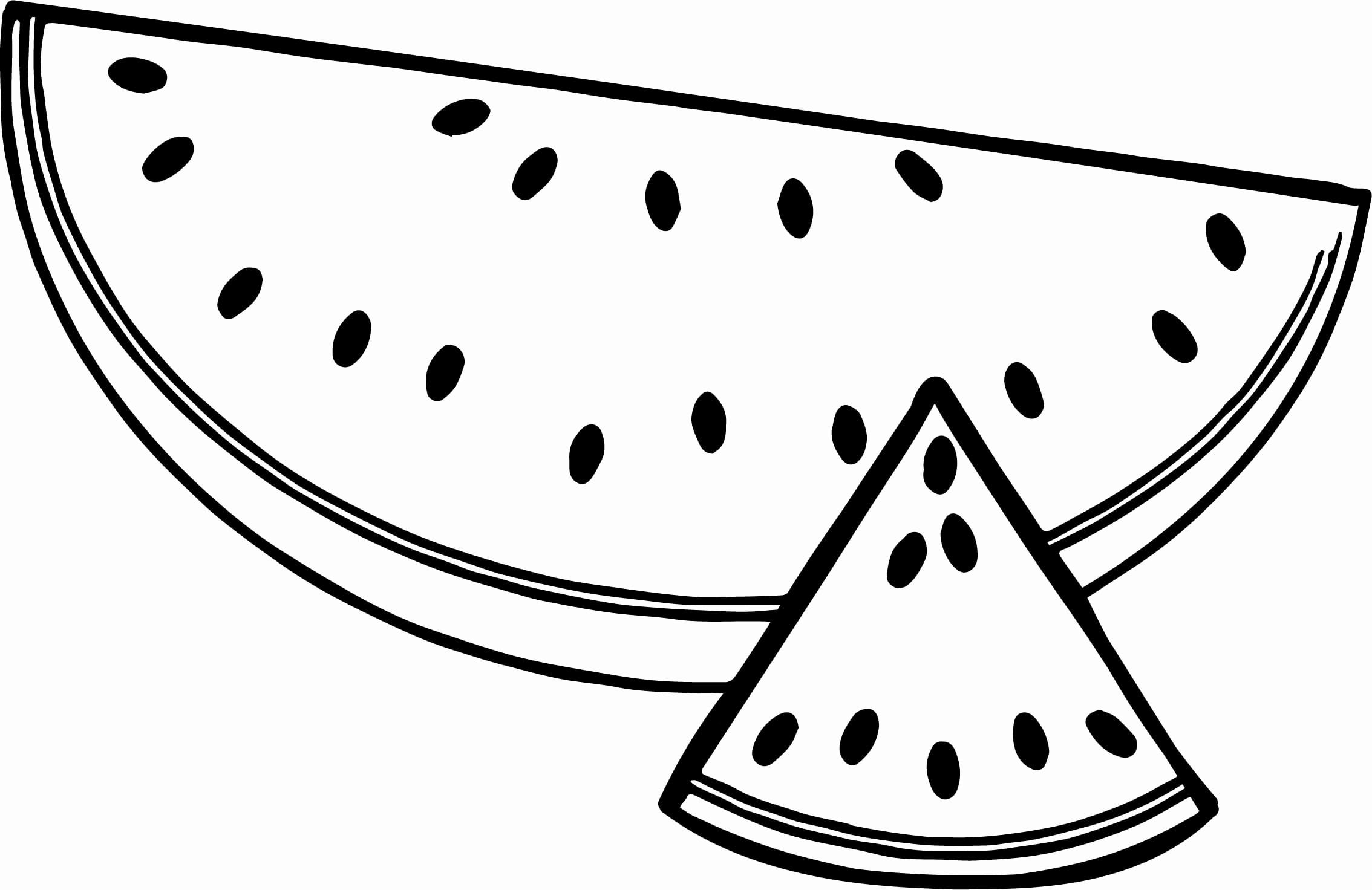 Watermelon Coloring Pages 6  321