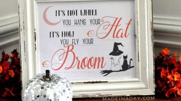 Free Witch Printables