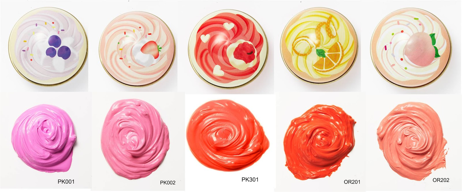 Review  Etude House Cupcake All Over Colour In Orange Choux Cake