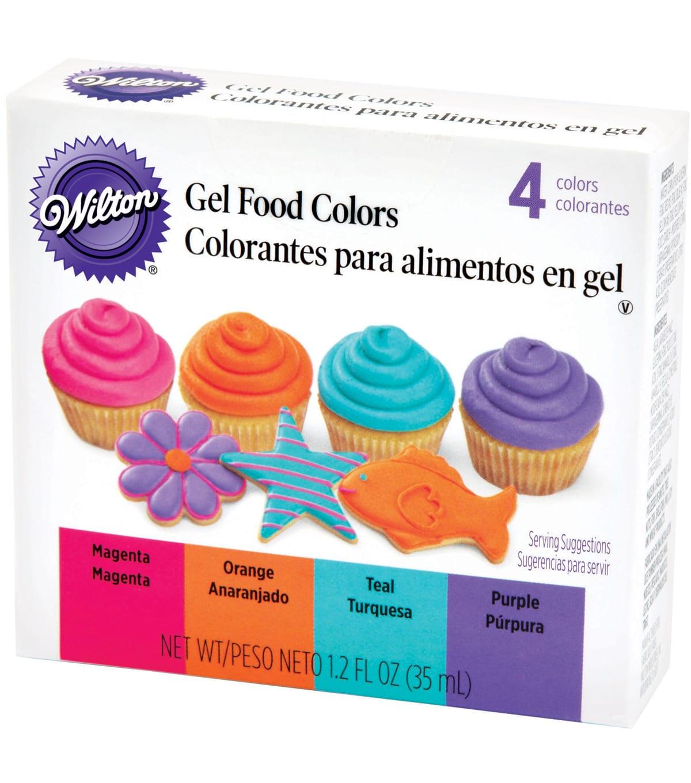 Wilton Gel Food Coloring Set