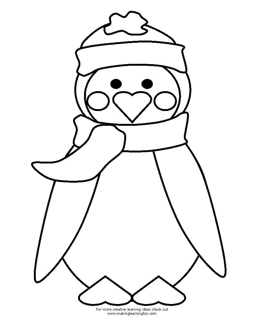 Penguin Color Sheet
