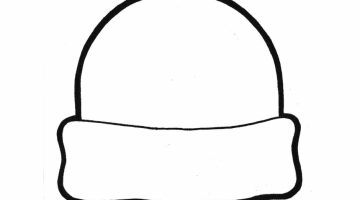 Coloring Pages Of Winter Coats