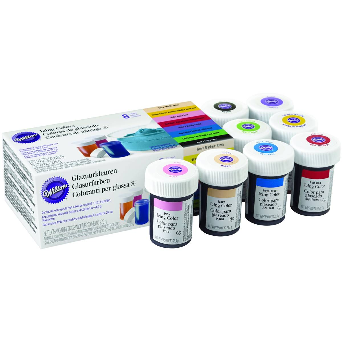 Wilton Icing Colour Kit 8 Pack