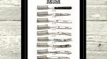 Toothbrush Pictures Printable