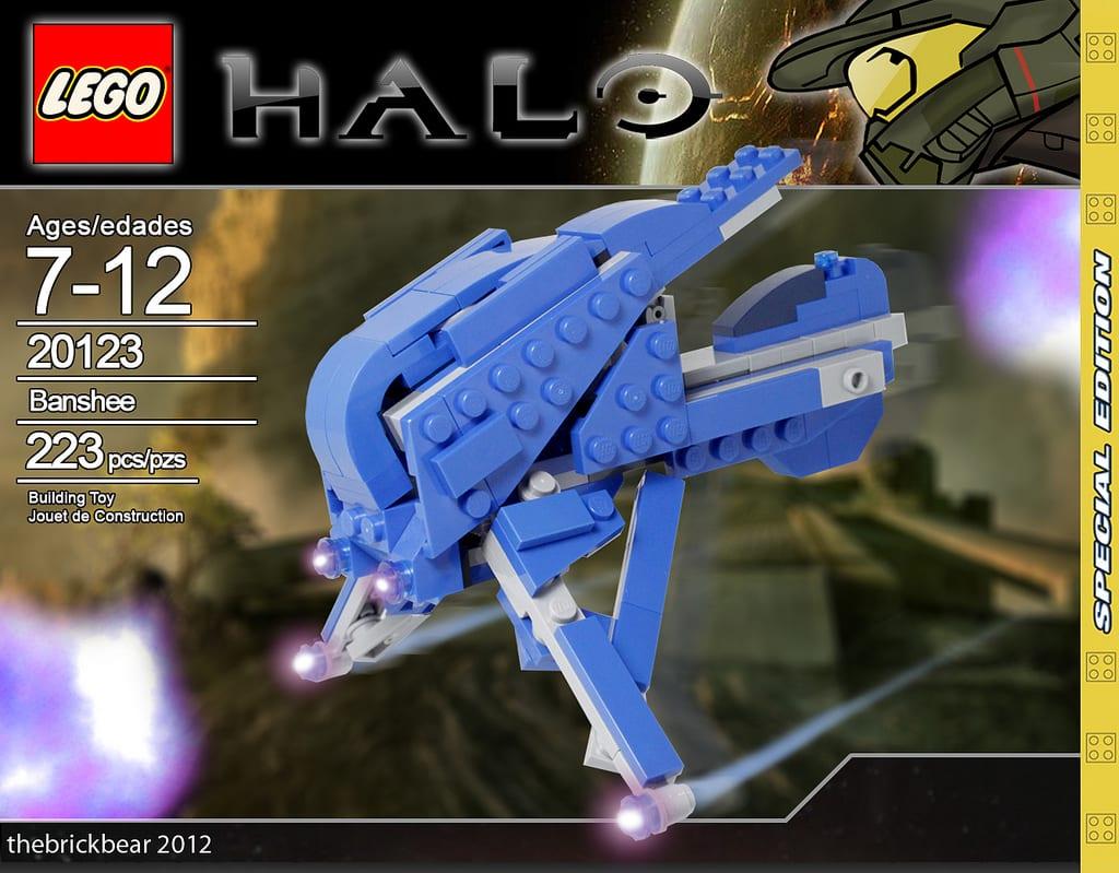 Lego Halo Banshee