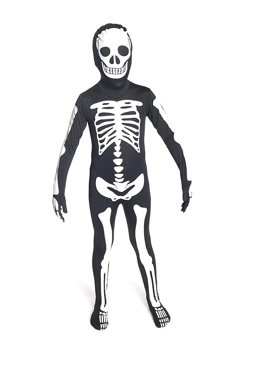 Amazon Com  Glow Skeleton Morphsuit Kids Costume Small  Toys & Games