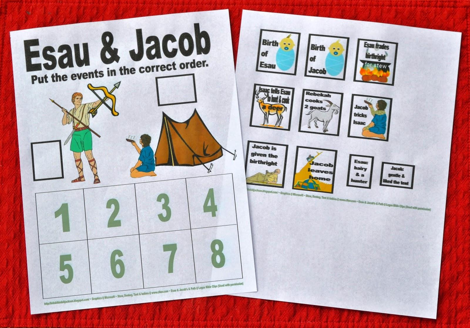 Bible Fun For Kids  Genesis  Jacob & Esau