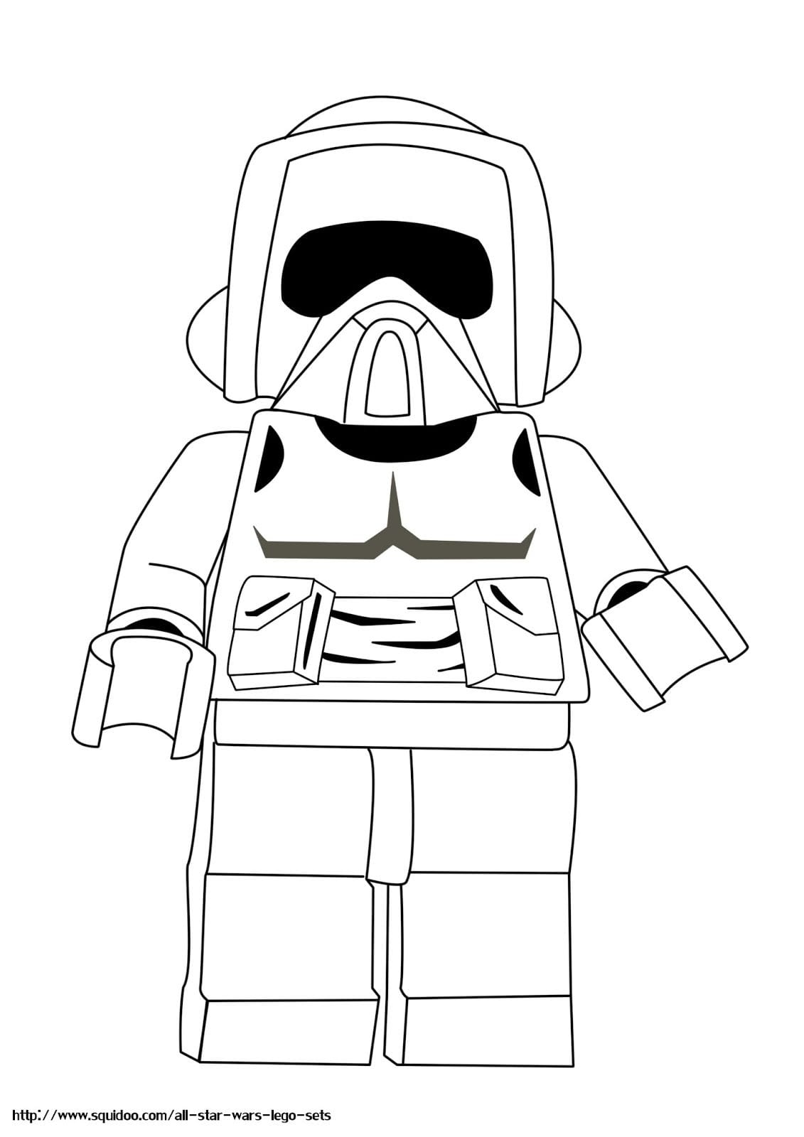 Lego Star Wars Printable Coloring Pages, Lego Star Wars Coloring