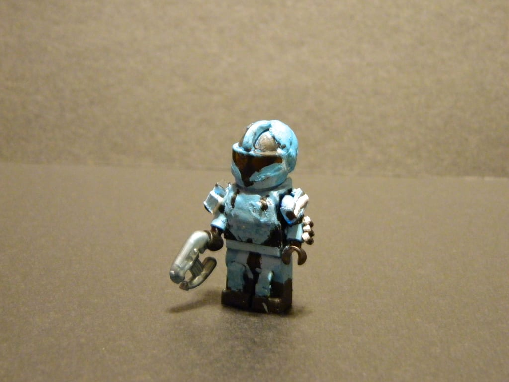 Lego Halo Reach Custom Spartan Sp