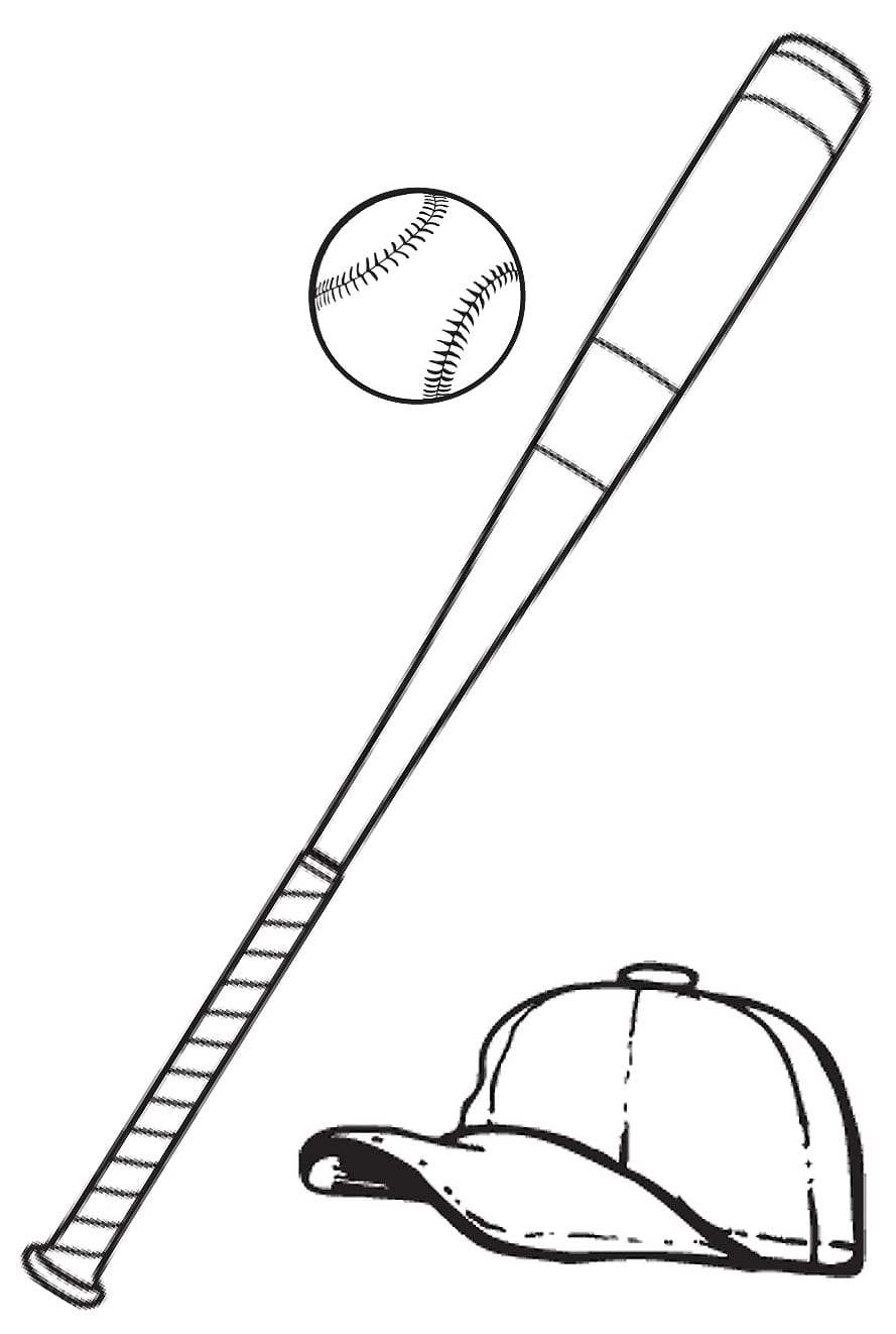 Free Bat Ball Pictures, Download Free Clip Art, Free Clip Art On