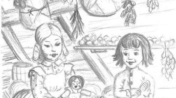Little House On The Prairie Coloring Sheets