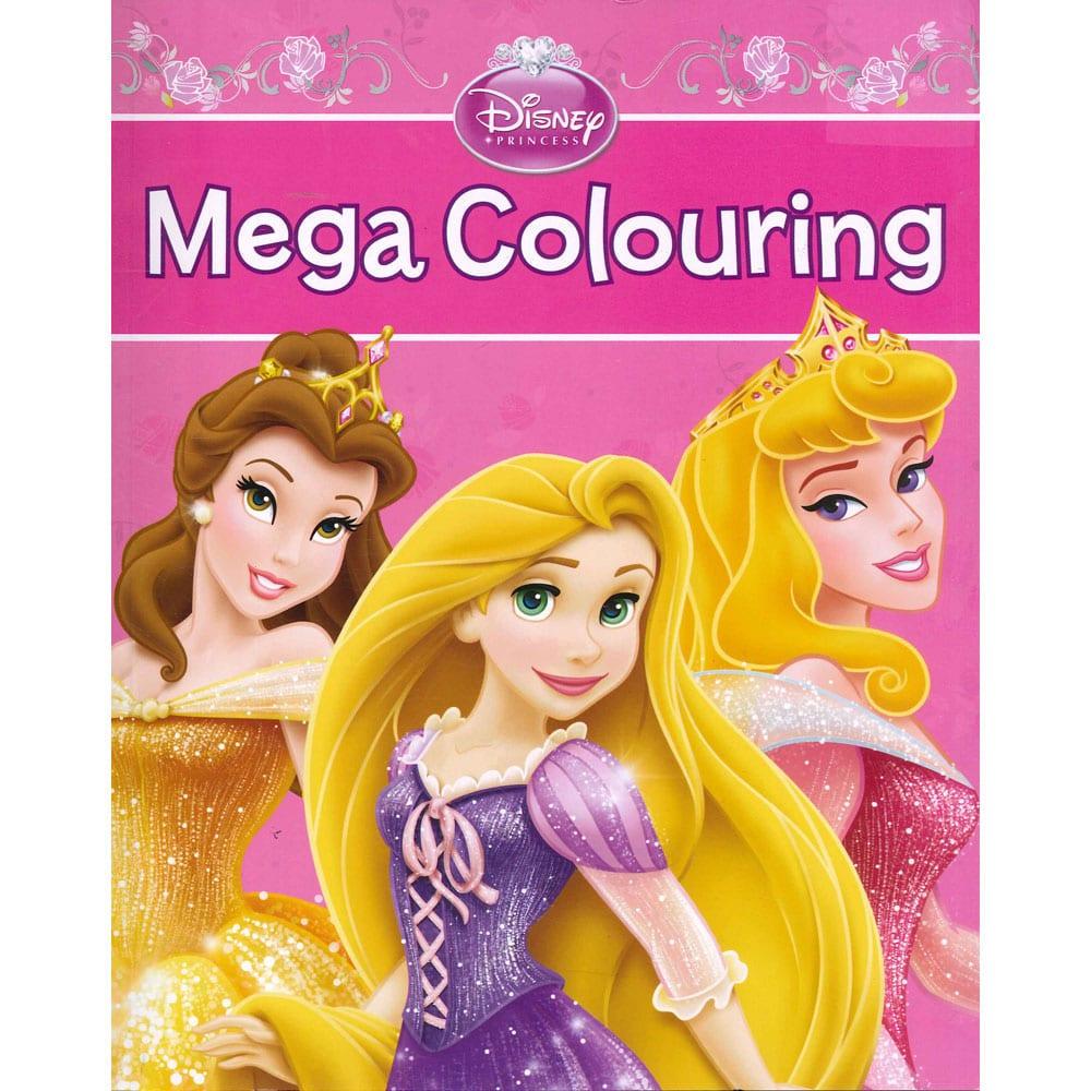 Disney Princess Mega Colouring By Parragon Books