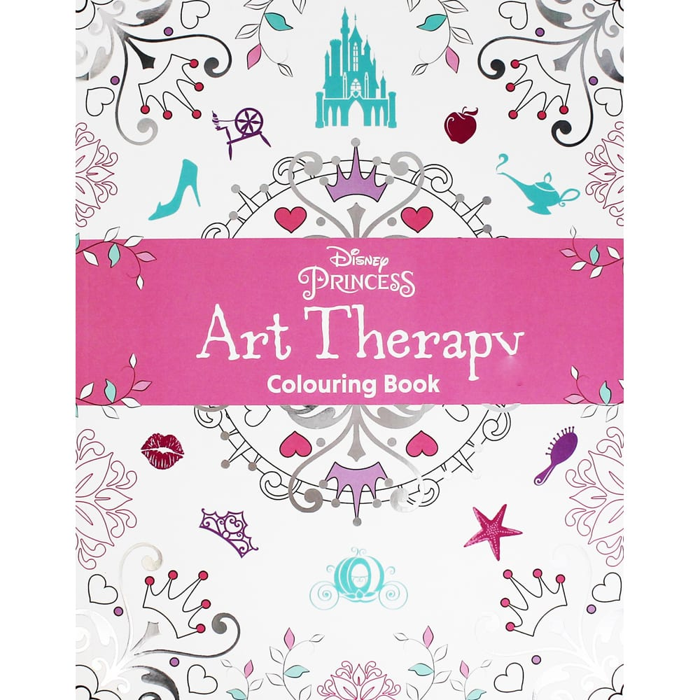 Disney Princess Art Therapy Colouring Book By Disney