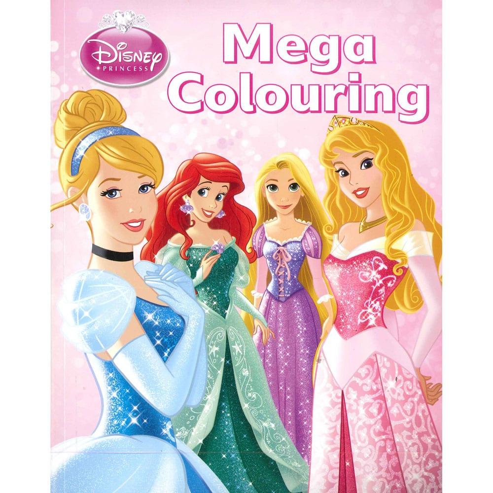 Disney Princess Mega Colouring Book By Disney