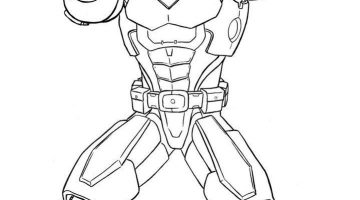 Marvel Iron Man Coloring Pages