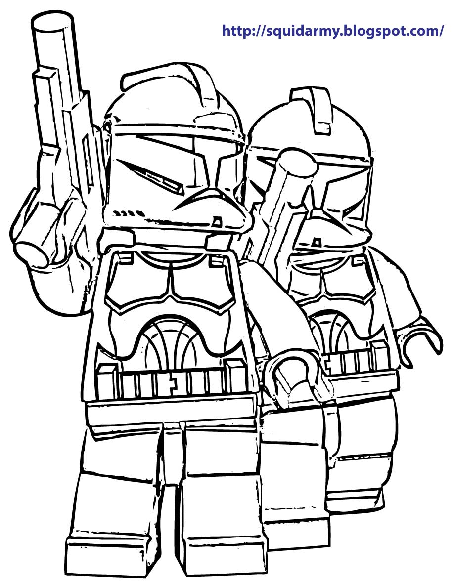 Angry Man Character Design Coloring Page Lego Star Wars Pages