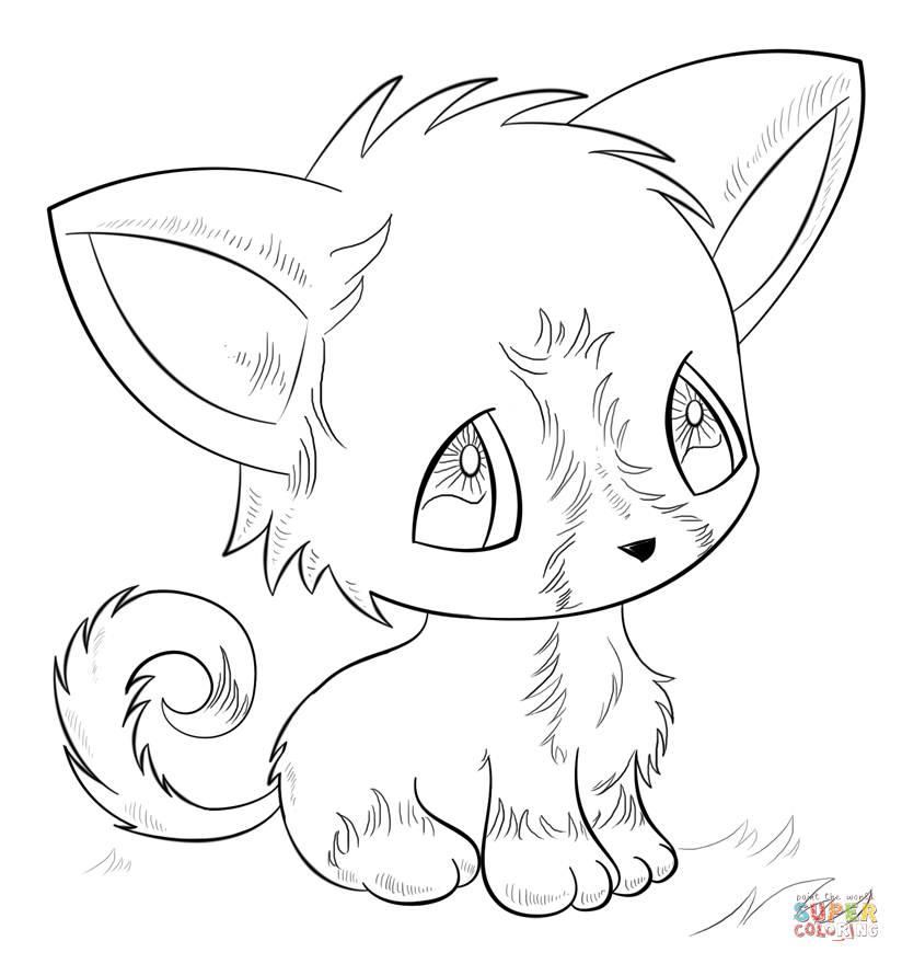Coloring Pages Anime 2954