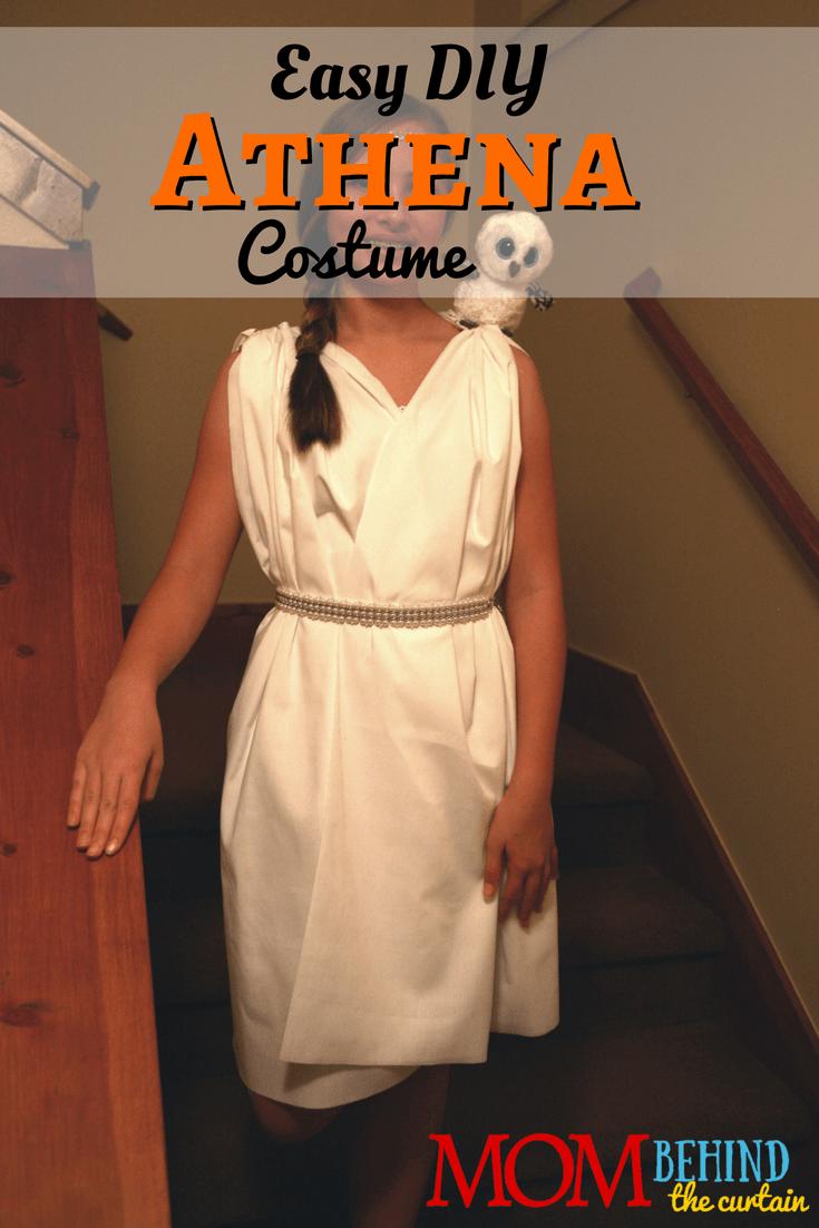 Athena Costume For Girls, No