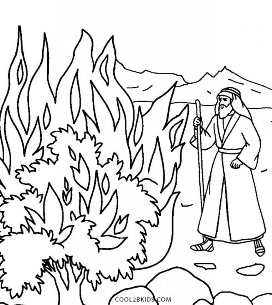 Desert Coloring Pages To Print 19 R 12 Bush Page