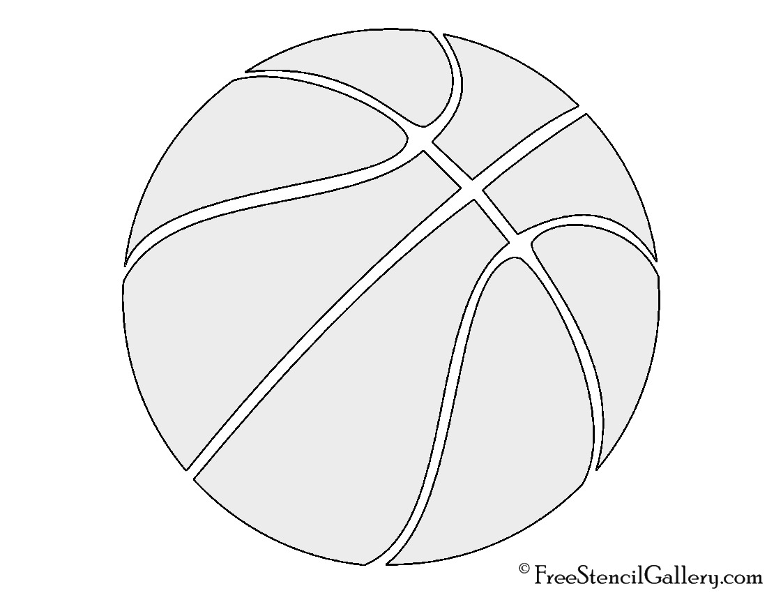 Basketball Cutouts Printable