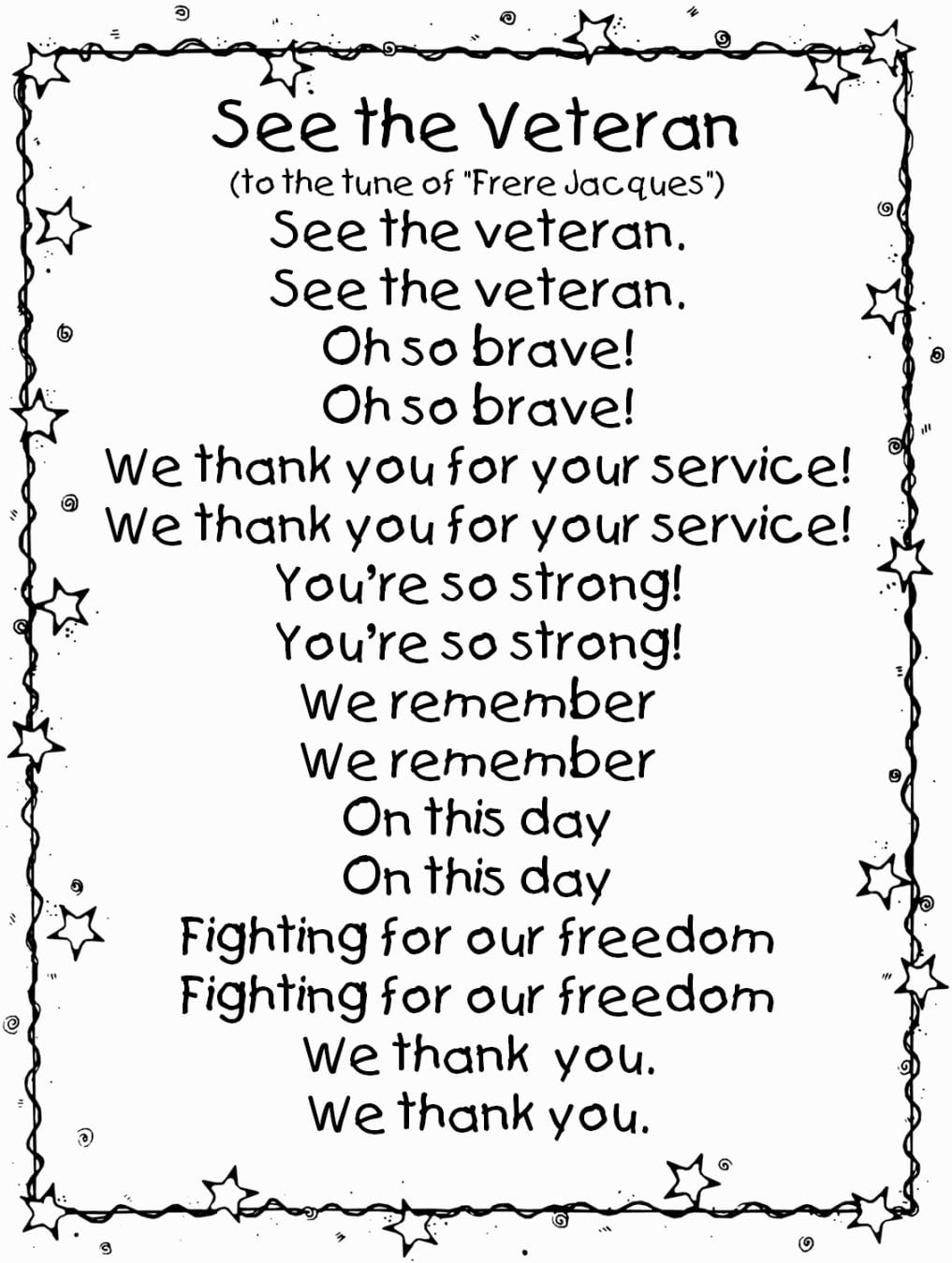 Veterans Day Coloring Pages Printable Sheets To Funny With