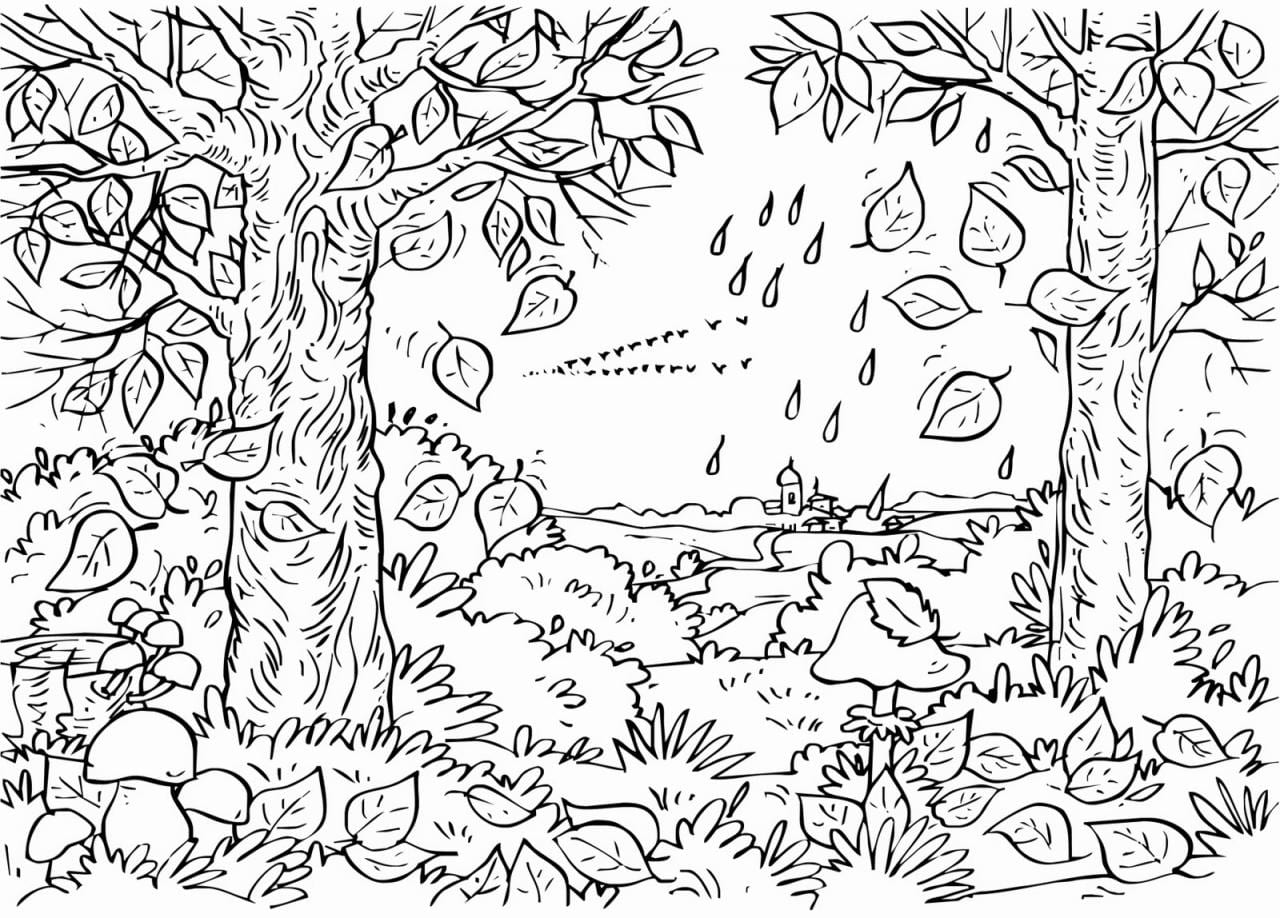Bm Image 778061 And Autumn Coloring Pages For Adults