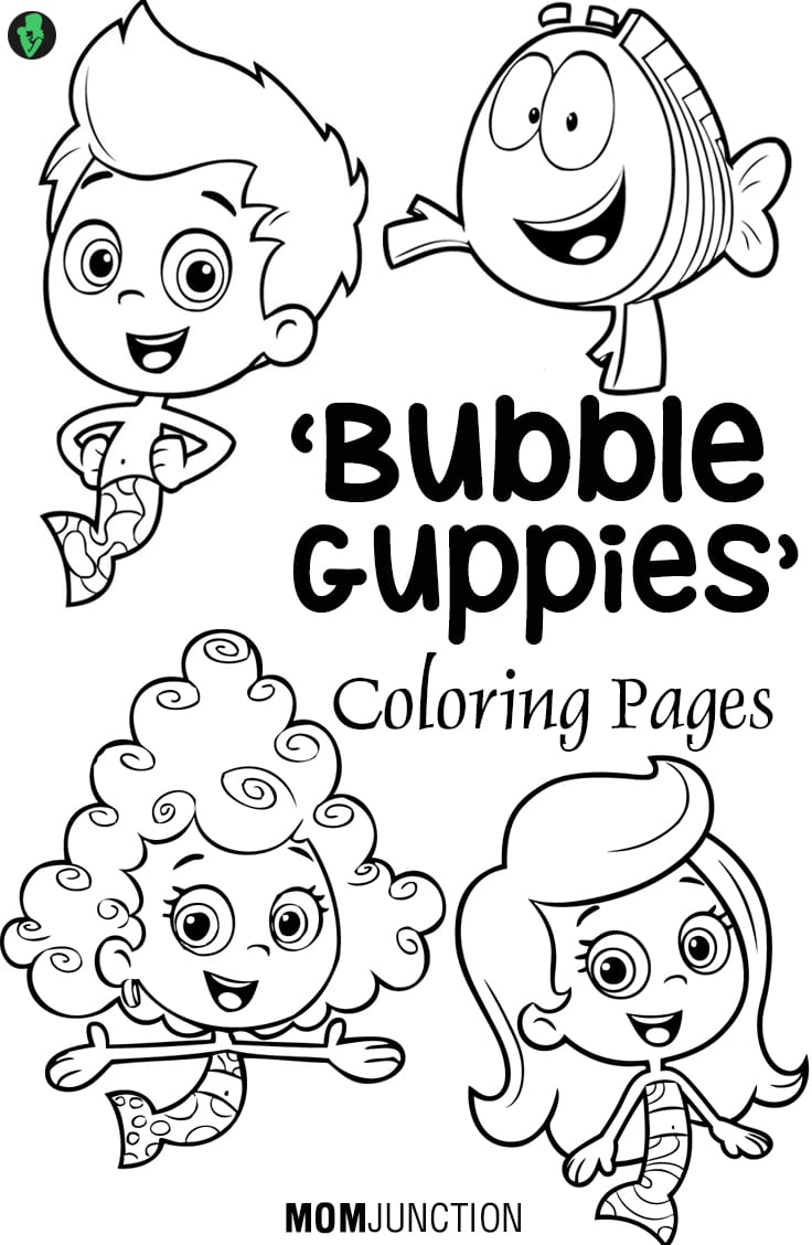 Bubble Guppies Coloring Book Top 15 Pages For Your Little Ones