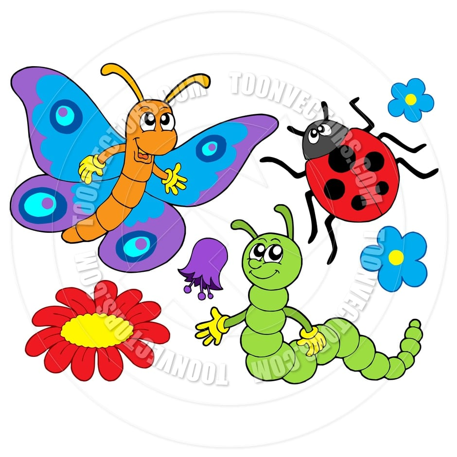 Cartoon Bugs And Insects 6  11201