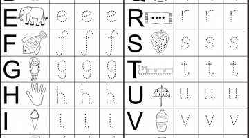 Preschool Pages To Print
