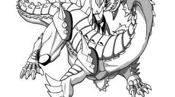 Free Bakugan Coloring Pages