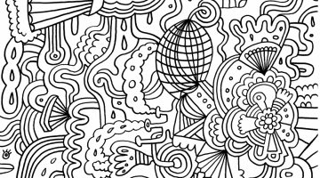 Hard Colouring Pages To Print