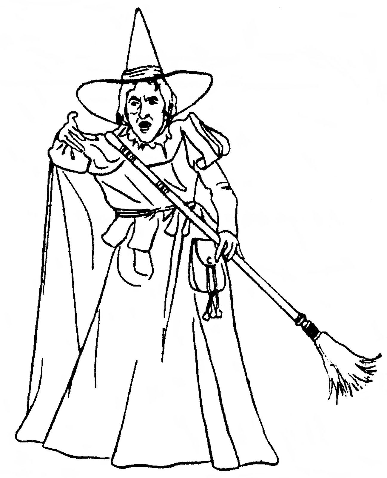 Wicked Witch Of The West Coloring Pages  2802234