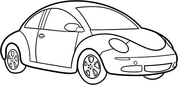 Coloring Sheet Car 7  5455