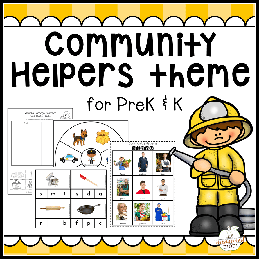 Community Helpers Theme Pack For Pre
