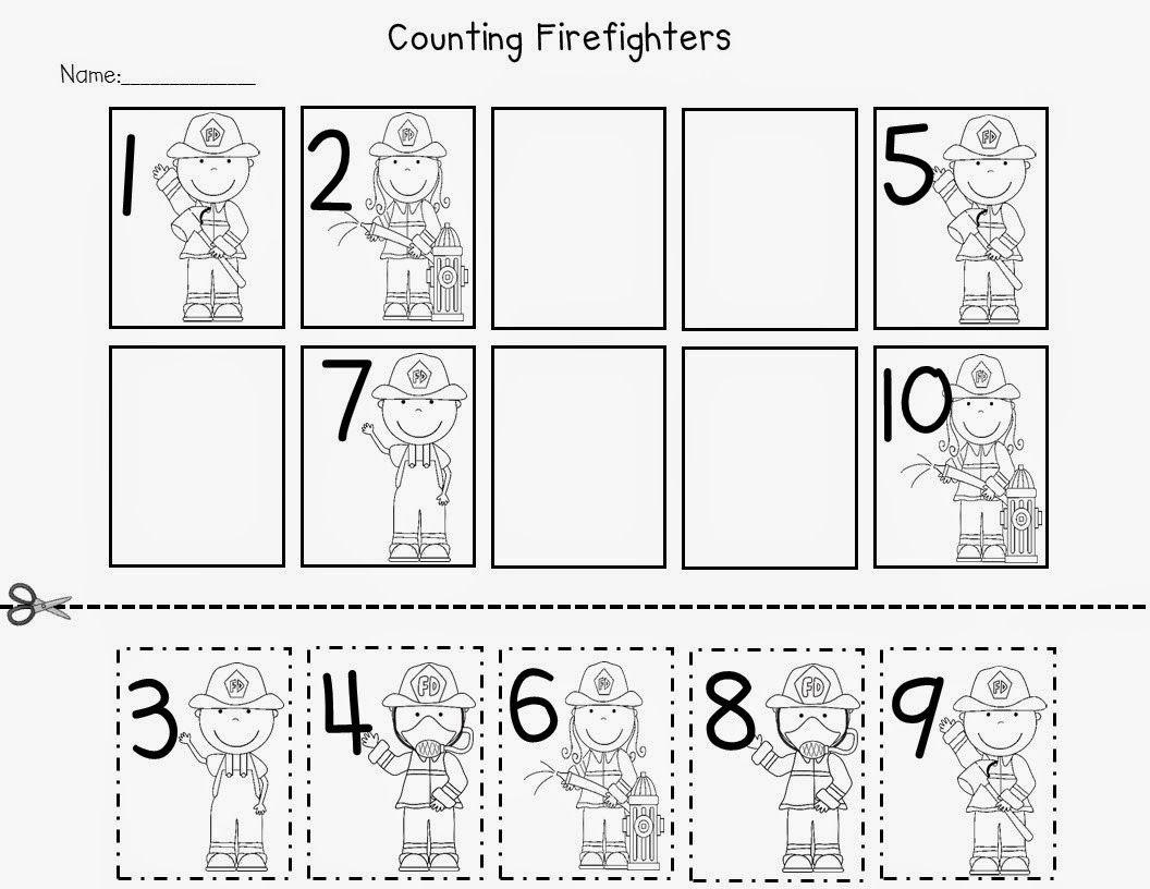 Kindergarten Community Helpers Worksheets For Kindergarten Photo