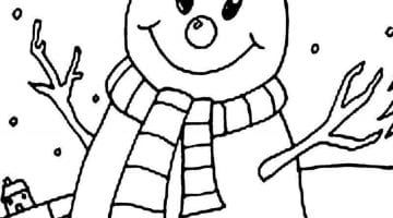 Christmas Window Coloring Pages