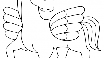 Free Pictures Of Unicorns To Color
