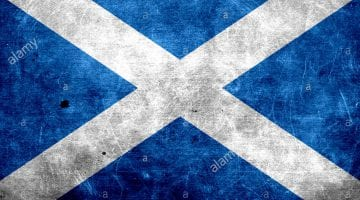 Pic Of Scotland Flag