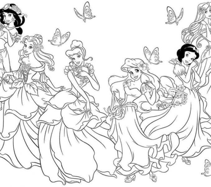 Disney Princess Colouring Book Inspirational Disney Princess
