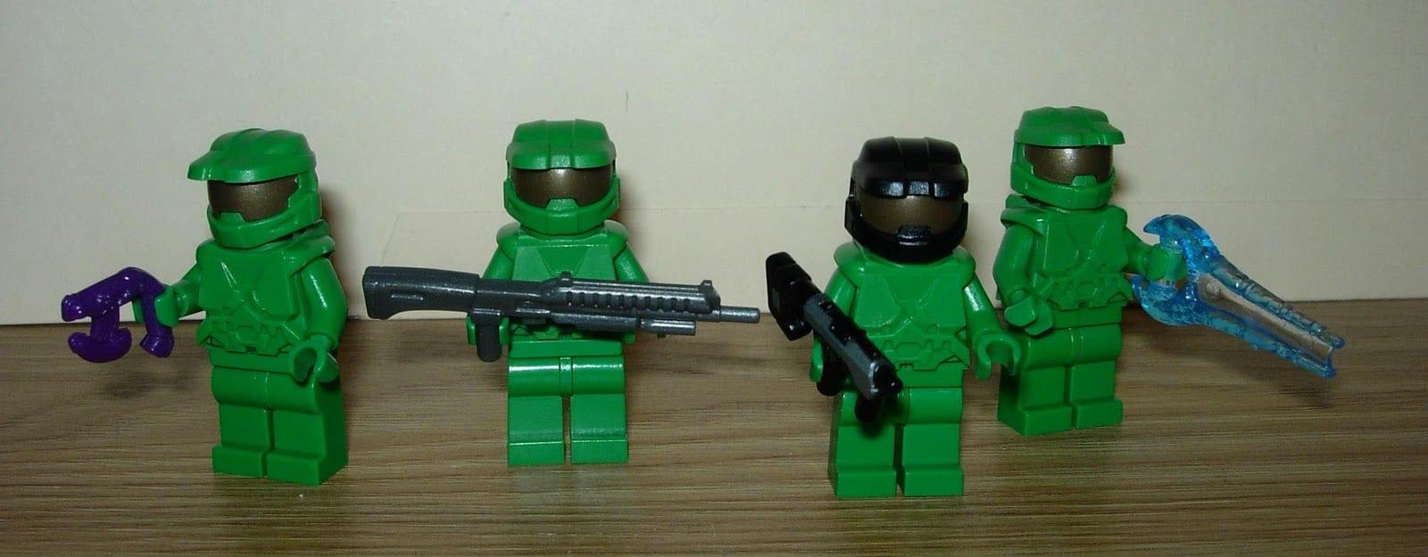All Things Fett  Halo Lego  Or Teensy Tinsey Spartans