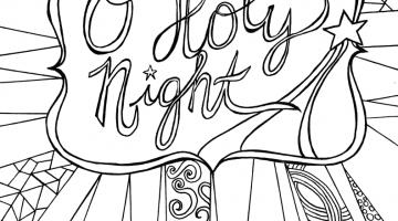 Free Bible Christmas Coloring Pages