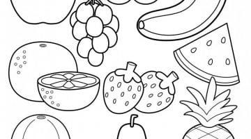 Printable Fruit Pictures