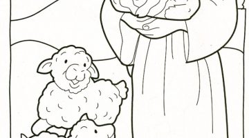 Jesus Return Coloring Pages