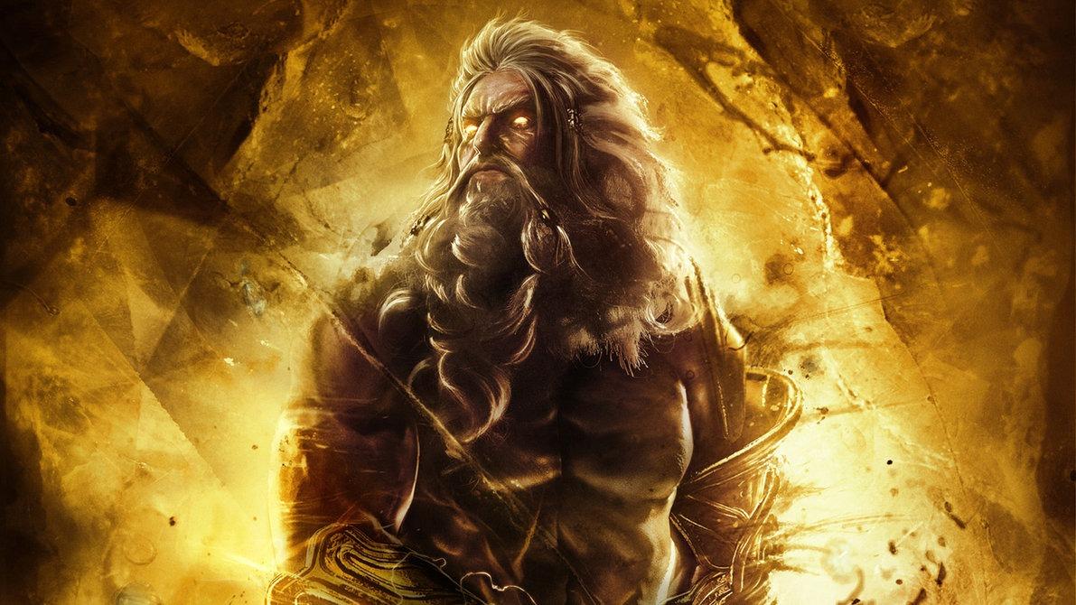 God Of War's Zeus