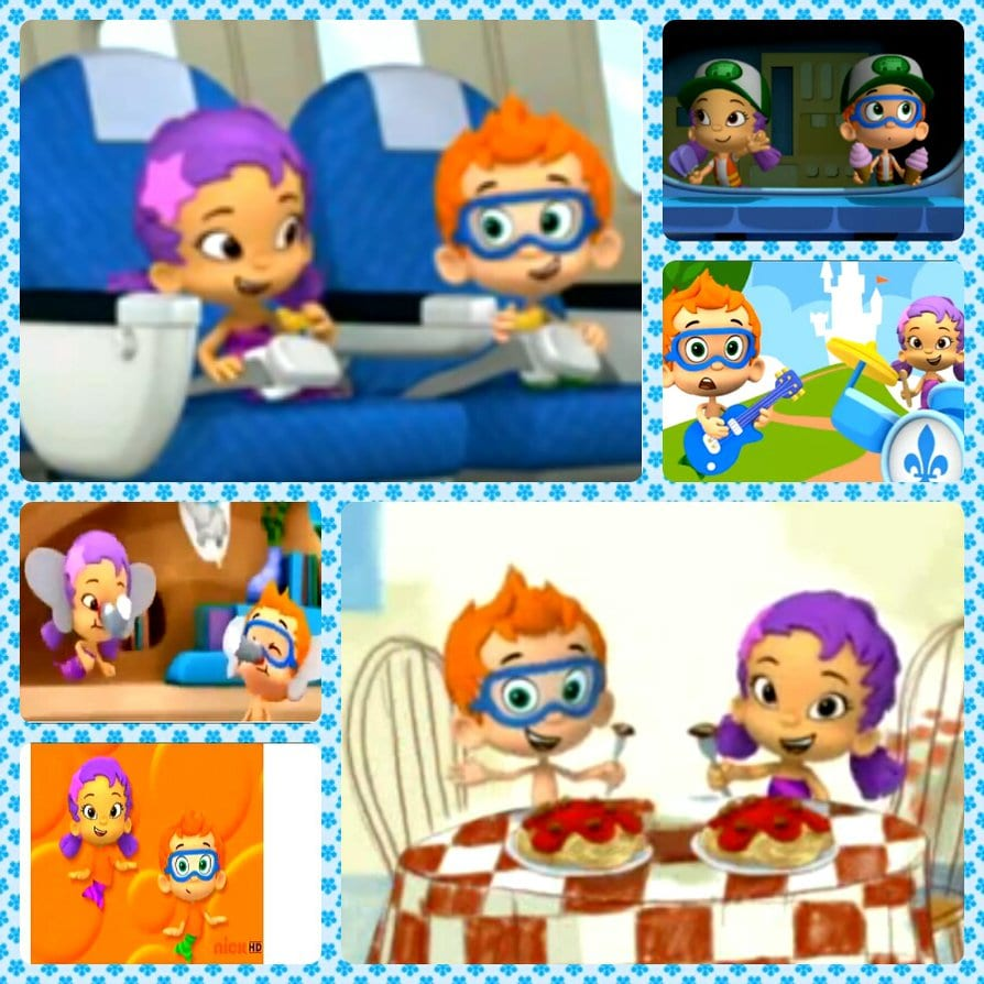 Excellent Bubble Guppies Oona Couple 2 And Nonny By Darkmegafan01