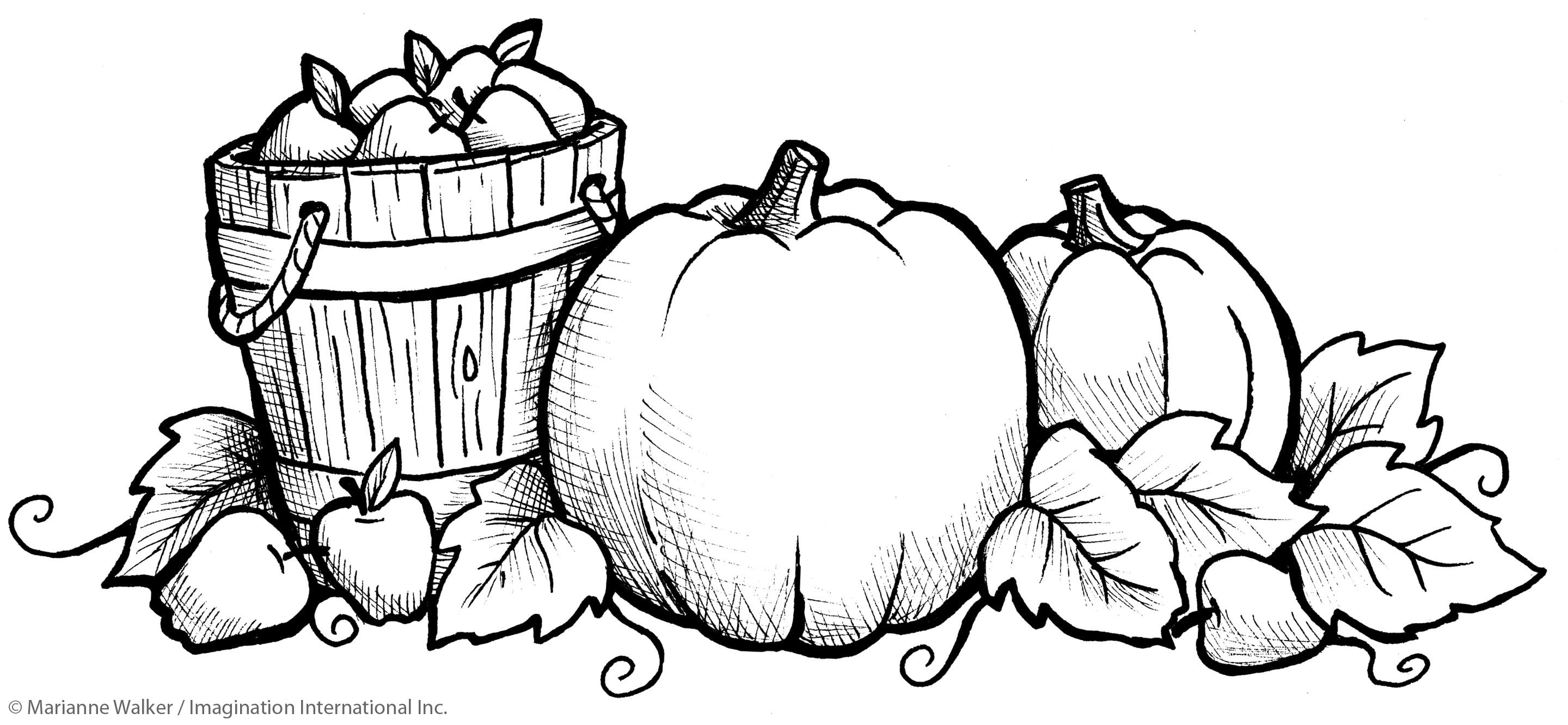 Fall Coloring Pages Free Printable Free Coloring Library